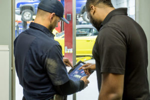 SOP Emphasis: AJ Nealey's shop now has a structured inspection policy that requires staff to use tablets and digital inspections for all repairs.