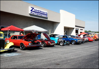 More than 60 antique cars were on display at Zimmerman's eighth annual car show. Photo by Stuart Leask