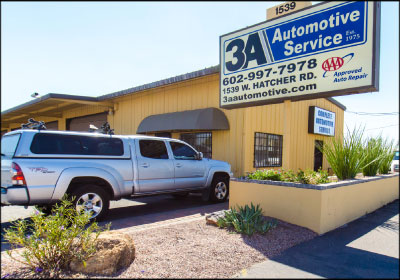 BUILDING THE FAMILY BUSINESS: Jimmy Alauria's dad, grandpa and uncle founded 3A Automotive in 1975. Alauria has since taken over and built it into a successful million-dollar shop.