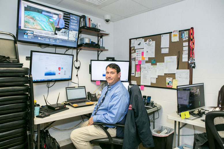 Command Center: ST Billingsley's office serves as his digital marketing hub, where he studies analytics, manages social media, and writes all blog content.