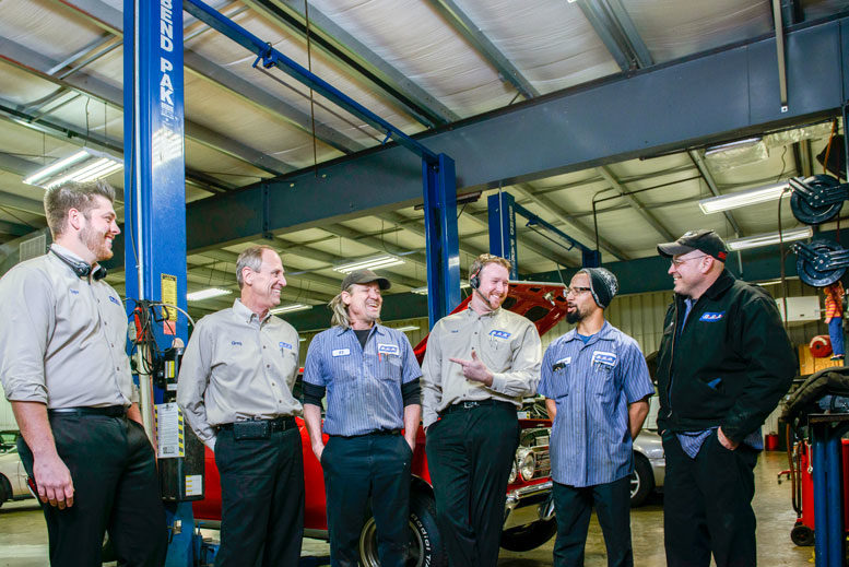 Taking Over: After taking over Champion Auto, Greg Bednar was left with a sta  that was skeptical o