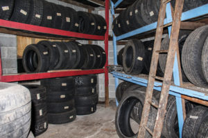 An Added Profit Center: O'Shea Tire &Service turned some unused shop space into a paid storage system for customers' seasonal tires.