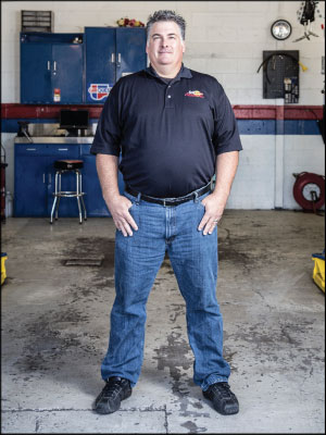 MAXIMUM THROUGHPUT: In three years, Craig Noel has dramatically improved operations at Sun Automotive by adjusting staff and processes. Photo by Joshua Rainey