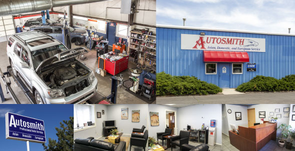 A NEW LOOK: When Jamie Dodd and her husband, Darren, took over Autosmith, they started by giving the facility a facelift—new colors, a focus on cleanliness and an improved lobby.