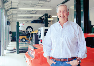 STANDING TALL: Christian Brothers founder Mark Carr wanted to build a company with a mission he believed in. Photo courtesy Christian Brothers Automotive