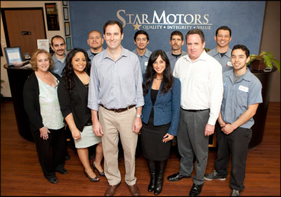 CREATING AN EXPERIENCE: The staff at Star Motors shares a customer-conscious mindset. Photo by Christian Kaysen