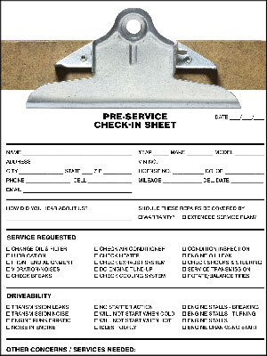 The Perfect Check In Sheet August 01 2014 Ratchet Wrench