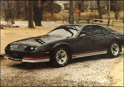 LONGTIME LOVE AFFAIR: Frank Noble Jr., 44, has put more than $80,000 into his 1984 Camaro—the car he drove to his high school prom and on his first date with his wife. Photo courtesy Frank Noble