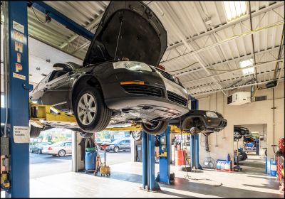 STEADY GROWTH: Owners Jeff and Debbie Nol grew Arie Nol Auto Center from three bays to 13 since purchasing the Kentwood, Mich., shop in 2000 and increased the technician team from two to five members.