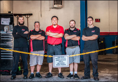 THE ART OF THE PITCH: ECP Auto Repair's decision to embrace community engagement as a marketing tactic has allowed both the shop and staff to grow.